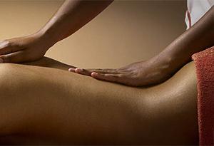 Massage à sec